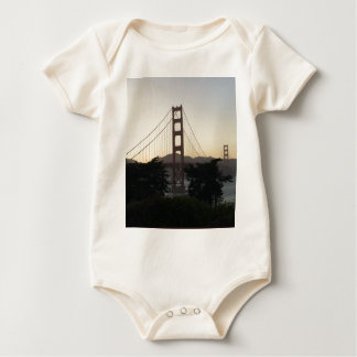 Golden Gate Bridge at Sunset Baby Bodysuit