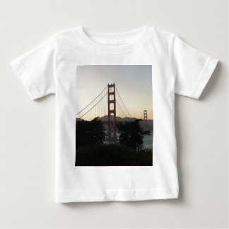 Golden Gate Bridge at Sunset Baby T-Shirt