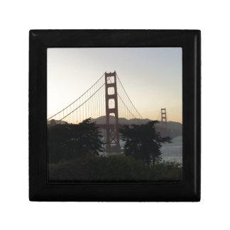 Golden Gate Bridge at Sunset Gift Box