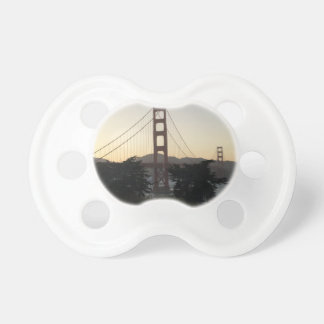 Golden Gate Bridge at Sunset Pacifiers