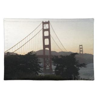Golden Gate Bridge at Sunset Placemat
