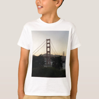 Golden Gate Bridge at Sunset T-Shirt