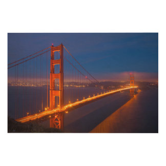Golden Gate Bridge, California 2 Wood Wall Decor