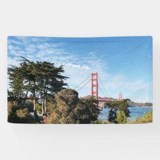 Golden Gate Bridge, California CA Banner