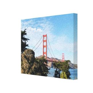 Golden Gate Bridge, California CA Canvas Print