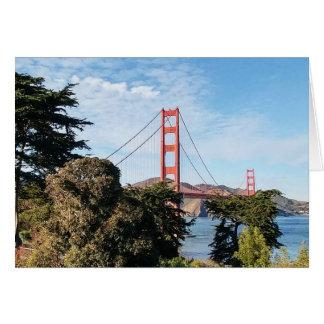 Golden Gate Bridge, California CA Card