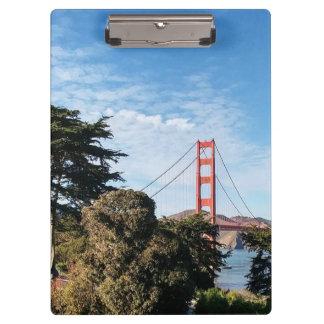 Golden Gate Bridge, California CA Clipboard