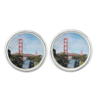 Golden Gate Bridge, California CA Cufflinks