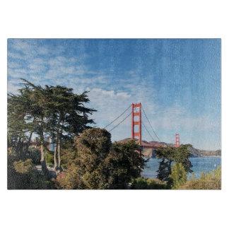 Golden Gate Bridge, California CA Cutting Board