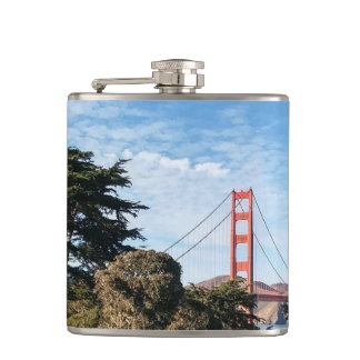 Golden Gate Bridge, California CA Hip Flask