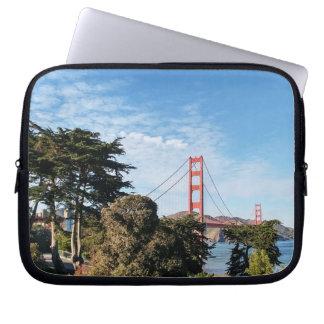 Golden Gate Bridge, California CA Laptop Sleeve