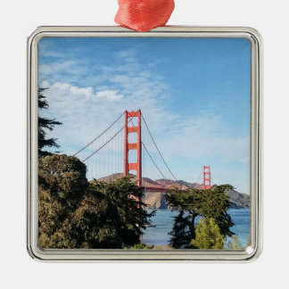 Golden Gate Bridge, California CA Metal Ornament