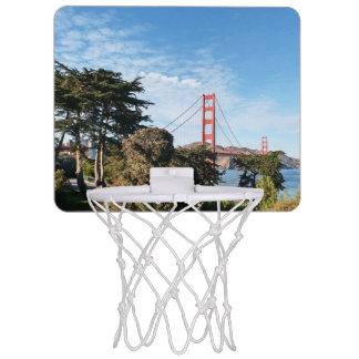 Golden Gate Bridge, California CA Mini Basketball Hoop