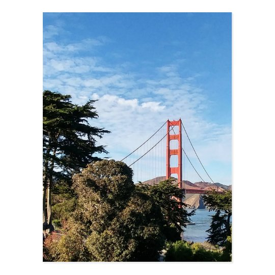 Golden Gate Bridge, California CA Postcard