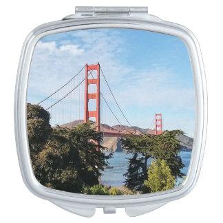 Golden Gate Bridge, California CA Vanity Mirrors