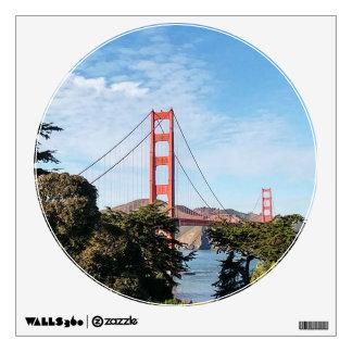 Golden Gate Bridge, California CA Wall Sticker