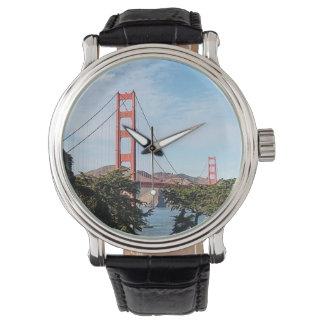 Golden Gate Bridge, California CA Wristwatch