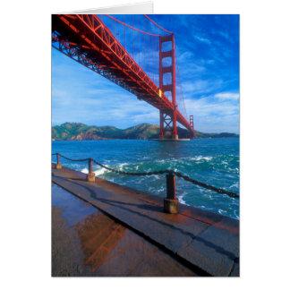 Golden Gate Bridge, California Card
