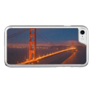 Golden Gate Bridge, California Carved iPhone 8/7 Case