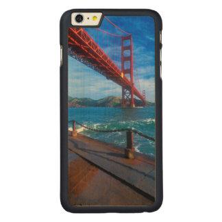 Golden Gate Bridge, California Carved® Maple iPhone 6 Plus Case