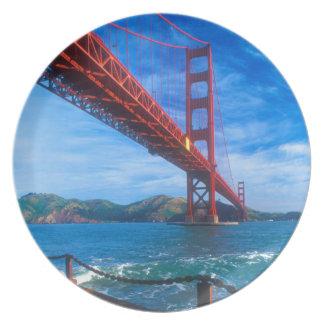 Golden Gate Bridge, California Dinner Plate