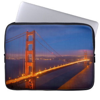 Golden Gate Bridge, California Laptop Sleeve