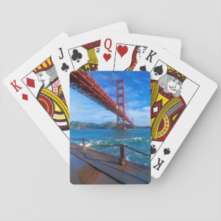 Golden Gate Bridge, California Poker Deck