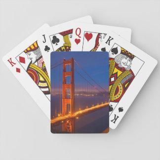 Golden Gate Bridge, California Poker Deck
