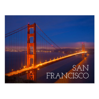 Golden Gate Bridge, California Postcard