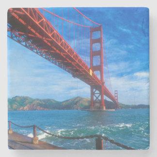 Golden Gate Bridge, California Stone Coaster