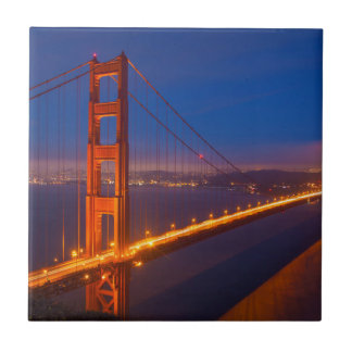 Golden Gate Bridge, California Tile