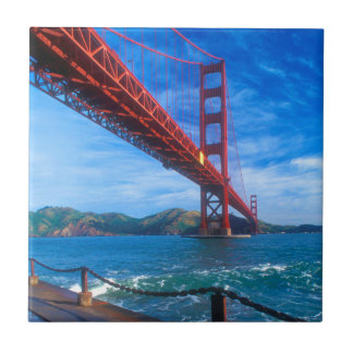 Golden Gate Bridge, California Tiles