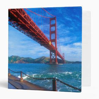 Golden Gate Bridge, California Vinyl Binder