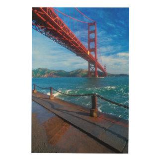 Golden Gate Bridge, California Wood Wall Decor