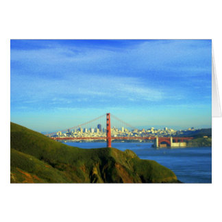 Golden Gate Bridge Card