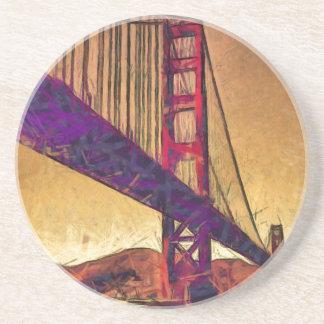 Golden gate bridge coasters