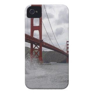Golden Gate Bridge (Fog) iPhone 4 Case-Mate Case