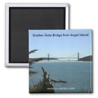 Golden Gate Bridge from Angel Island Magnet