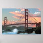 Golden Gate Bridge from Baker Beach Print