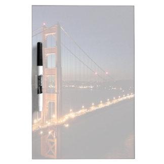 Golden Gate Bridge from Marin headlands Dry-Erase Board