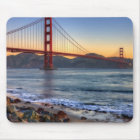 Golden Gate Bridge from San Francisco bay trail. Mouse Pad