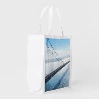 Golden Gate Bridge Grocery Bags