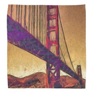 Golden gate bridge head kerchiefs