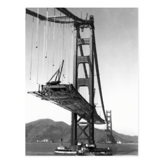 Golden Gate Bridge I Postcard