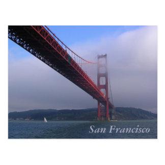 Golden Gate Bridge in San Francisco, CA Postcard