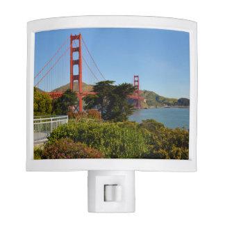 Golden Gate Bridge in San Francisco California Night Lites