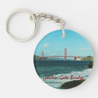 Golden Gate Bridge Keychain