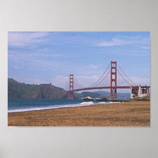 Golden gate bridge - la plage de Baker