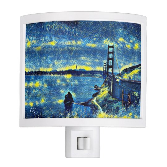Golden Gate Bridge Nite Light