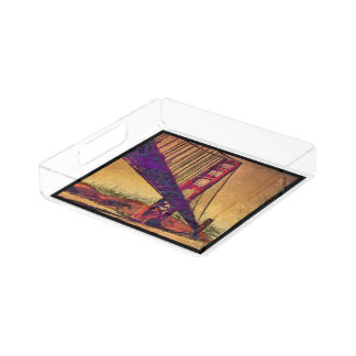 Golden gate bridge perfume tray
